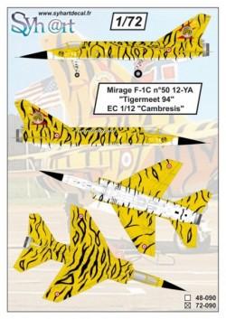 """Mirage F-1C 12-YA #50 """"Tigermeet'94"""""""