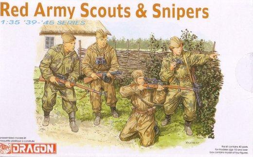 RED ARMY SCOUTS&SNIPERS