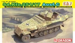 SD. KFZ. 251/17 AUSF.C/COMMAND VERSION