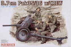 3,7cm Pak 35/36 w/CREW