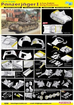 PANZERJÄGER I 4.7cm PaK(t) EARLY PRODUCTION (SMART KIT)