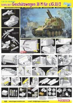 Sd.Kfz.138/1 GESCHÜTZWAGEN 38 M für S.IG 33/2 (SMART KIT)