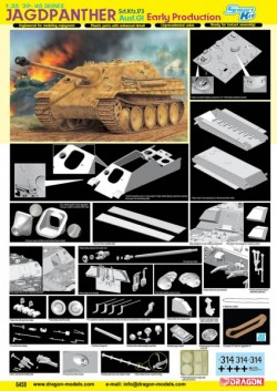 Sd.Kfz.173 JAGDPANTHER G1 EARLY PRODUCTION (SMART KIT)