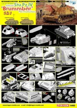 Sd.Kfz.166 Stu.Pz.IV BRUMMBÄR MID PRODUCTION (2 in 1)