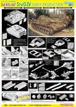 Sd.Kfz.167 StuG.IV EARLY PRODUCTION (SMART KIT)