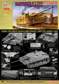 JAGDPANZER IV L/70(V) Aug 1944 Production w/Zimmerit
