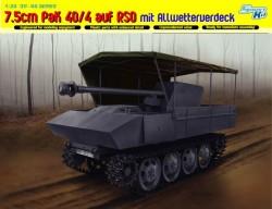 7.5cm PaK 40/4 auf RSO mit Allwetterverdeck