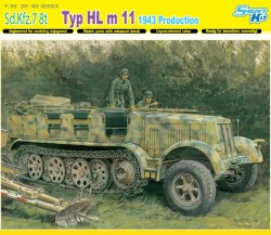 SD.KFZ.7 8(t) 1943 PRODUCTION (SMART KIT)