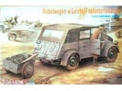 Kübelwagen w/Leichter infanteriekarren
