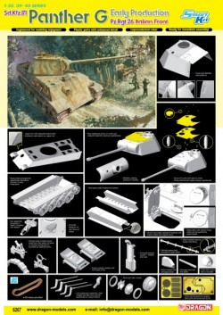 PANTHER G EARLY PRODUCTION PZ.RGT.26 ITALIAN FRONT