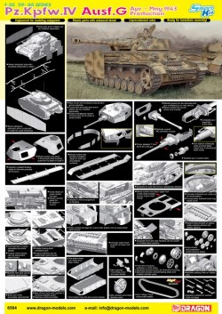 PZ.KPFW. IV AUSF.G APR-MAY 1943 PRODUCTION