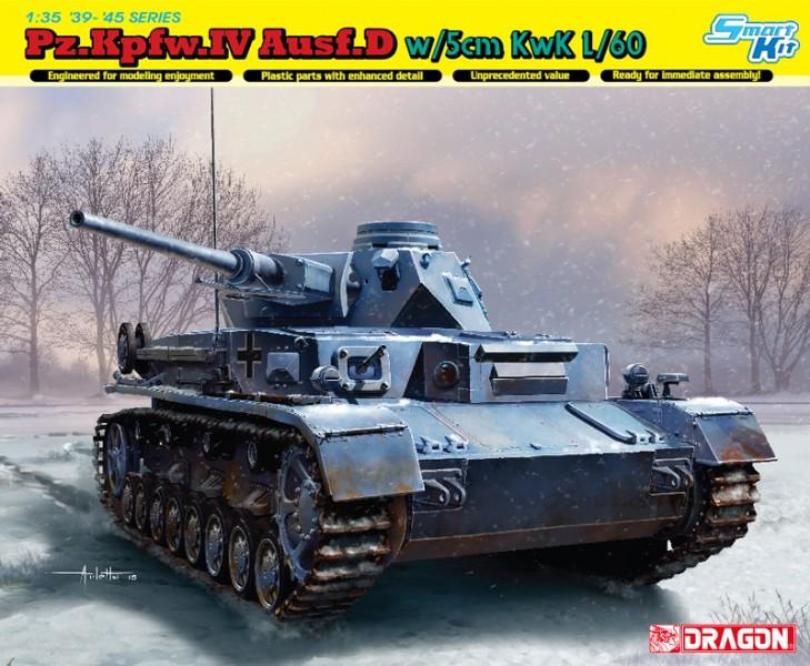 PZ.KPFW.IV Ausf.D w/5cm L/60