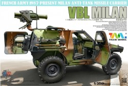 FRENCH ARMY 1987 PRESENT VBL MILAN ANTITANK MISSILE LAUNCHER VEHICLE