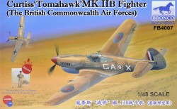 """Curtiss""""Tomahawk'MK.II B Fighter The British Commonwealth Air Forces)"""