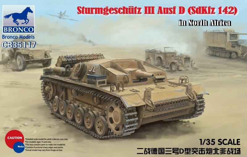 SturmgeschützIII Ausf D (SdKfz 142) in El Alamein