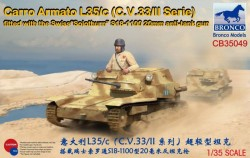 """Carro Armato L35/c(C.V.33/II Serie)Fitte with the Swiss""""Solothurn""""S18-1100"""