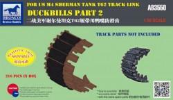 Duckbills part 2 For US M4 SHERMAN TANK T62 Track Link