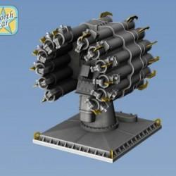 RBU-6000 Smerch-2 set parts for 4 launchers