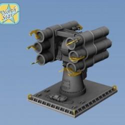 RBU-1000 Smerch-3 set parts for 4 launchers
