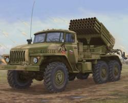 Russian BM-21 Hail MRL-Late