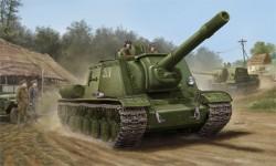 Soviet SU-152 Tank - Late