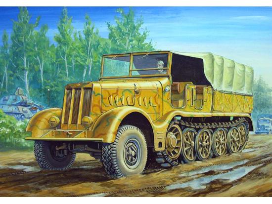 Sd.Kfz. 9 Famo 18 t Zugkraftwagen