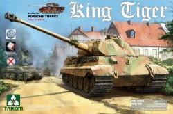 German Heavy Tank Sd.Kfz.182 King Tiger Porsche Turret w/interior