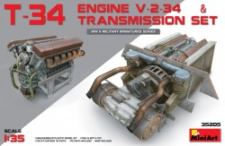 T-34 Engine(V-2-34) & Transmission Set