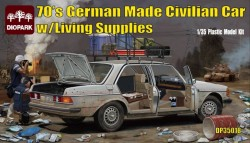 German Made Civilian Car w/Living