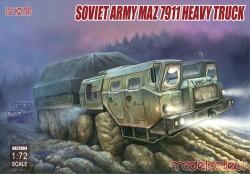 Soviet Army MAZ 7911 heavy truck