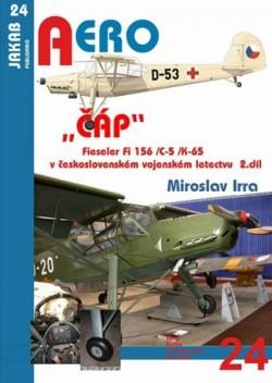 """AERO 24: """"ČÁP"""" Fieseler Fi 156 /C-5 /K-65 v československém vojenském letectvu - 2.díl"""