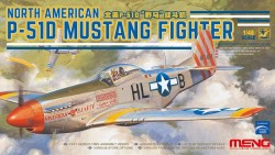 NORTH AMERICAN P-51D MUSTANG FIGHTER (assembly requires NO glue)