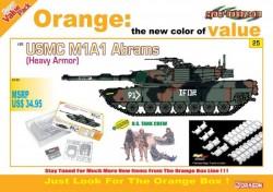 USMC M1A1 ABRAMS (HEAVY ARMOR) + U.S. TANK CREW