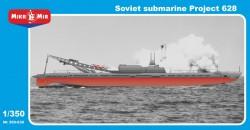 Soviet submarine Projekt 628