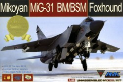 MiG-31BM/BSM Foxhound Limited Edition (with upgrade set)