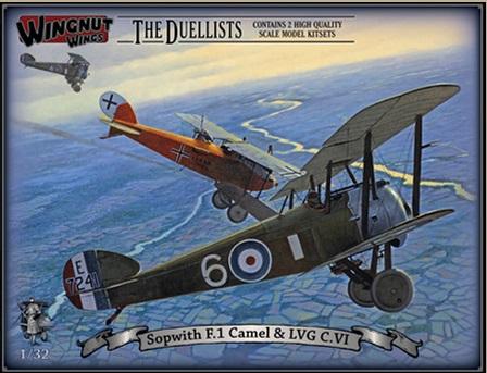 Sopwith F.1 Camel & LVG C.VI