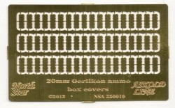 20 mm Oerlikon ammo box covers