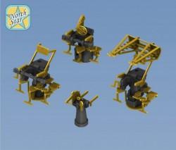 Royal Navy Pom-Pom Directors set (4 types x 4 pcs, totally 16)