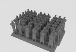 Kriegsmarine winter static figures set 2