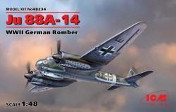 Ju 88A-14, WWII Germann Bomber