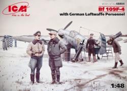 Bf 109F-4 with German Luftwaffe stuff