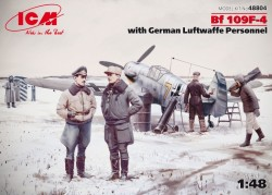 Bf 109F-4 with German Luftwaffe stuff