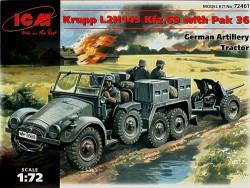 Krupp L2H143 Kfz. 69 with Pak 36 Gun