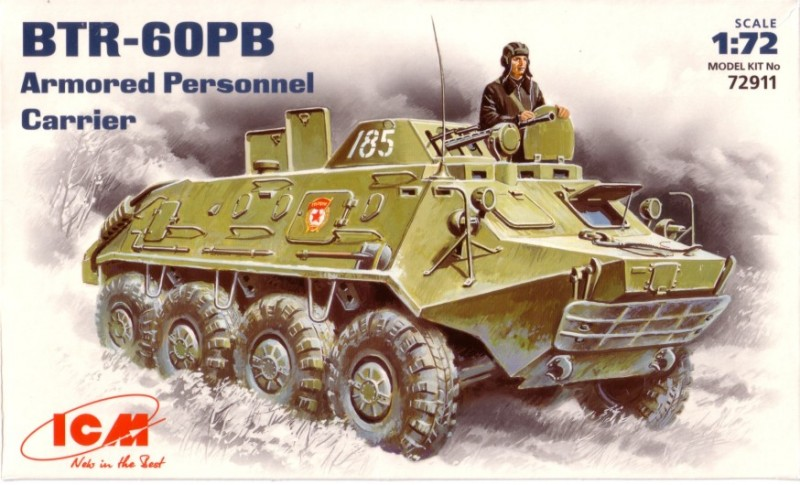 BTR-60PB Soviet armored personnel carrier