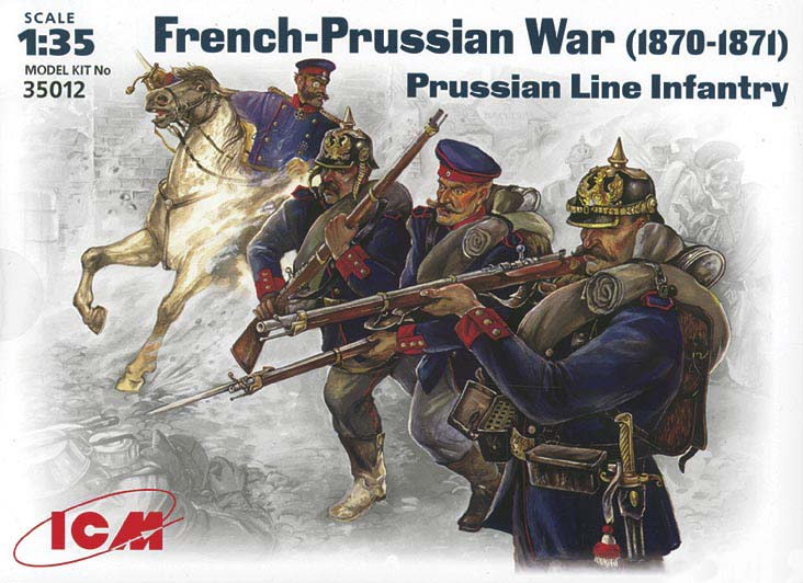 Prussian Line Infantry (1870-1871)