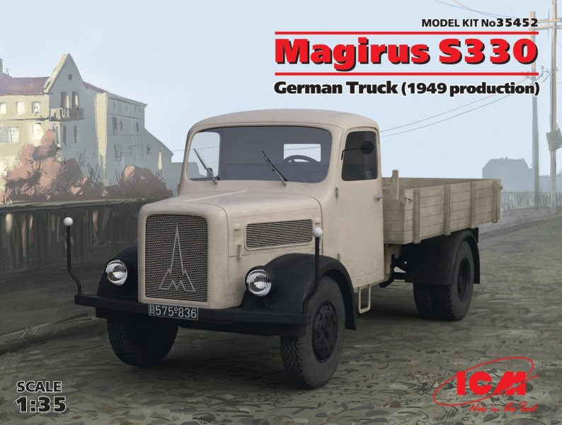 Magirus S330 German Truck (1949 producti on)(100% new molds)