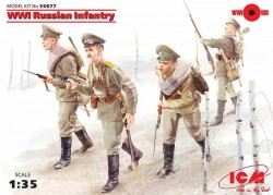 WWI Russian Infantry (4figures)