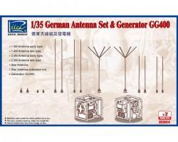German Antenna Set & GG400 Generator (Model kits x2)