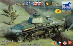 Skoda LT Vz35 & R-2 Tank  2in1 (Eastern European Axis forces)