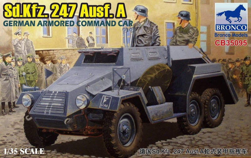 Sd.Kfz.247 Ausf.A German Armored Command Car